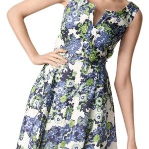 Tory Burch Amalia Floral Linen Dress 4